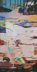 Italië, afmeting 40 x 80 cm (LxH)