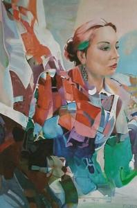 Tamara, afmeting 60 x 80 cm (LxH)